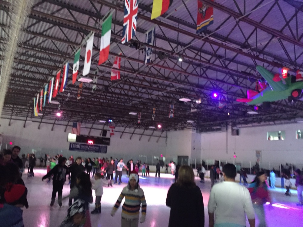ice skating hello Crepuscule miami
